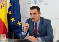 Sánchez afirma que España participará en diálogo sobre Afganistán